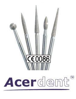 Acerdent Diamond Burs and Tools