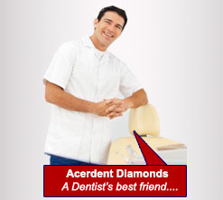 Satisfied dentist after using Acerdent diamond reducer bur tools